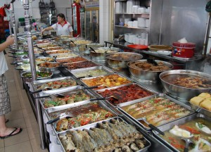 Singapore Hawker Stall, Is Street Food Safe Eating in Southeast Asia