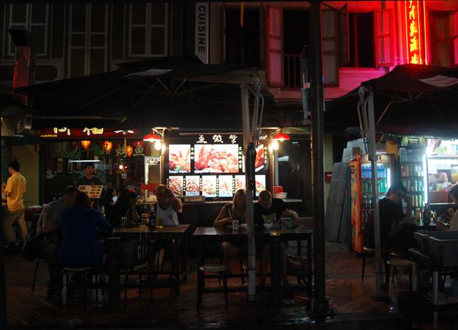 Chinatown Hawkers Geylang Food Affair Singapore Weekend Southeast Asia