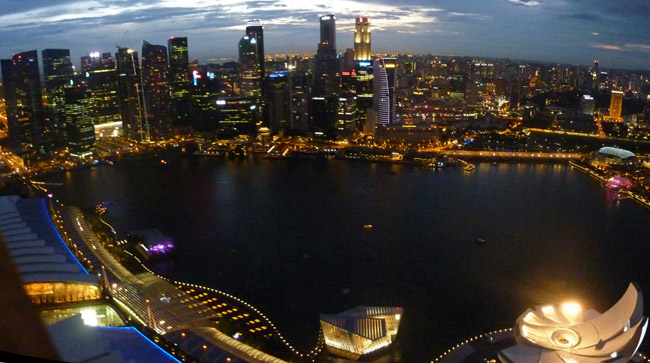 Skypark Night Views, Travel in Southeast Asia, Tourist Attractions