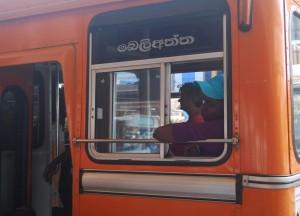 Local Bus at Matara Station, South Sri Lanka Tour, Independent Travel