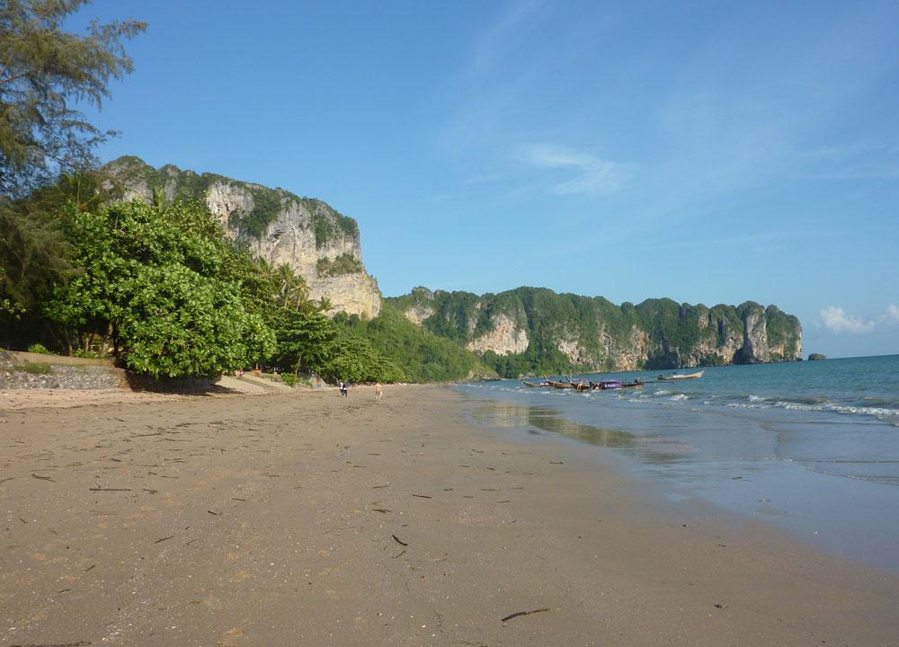 Ao Nang Beach Views, Low season in Krabi Thailand, Southeast Asia