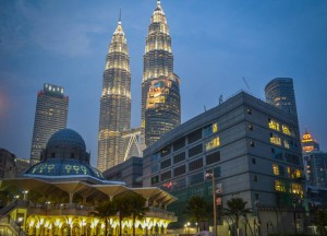 Mosques in Kuala Lumpur, As Syakirin Mosque (KLCC)
