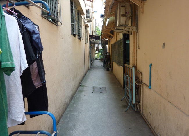 Side Alleyway, Bangkok Street Food Street, Southeast Asia