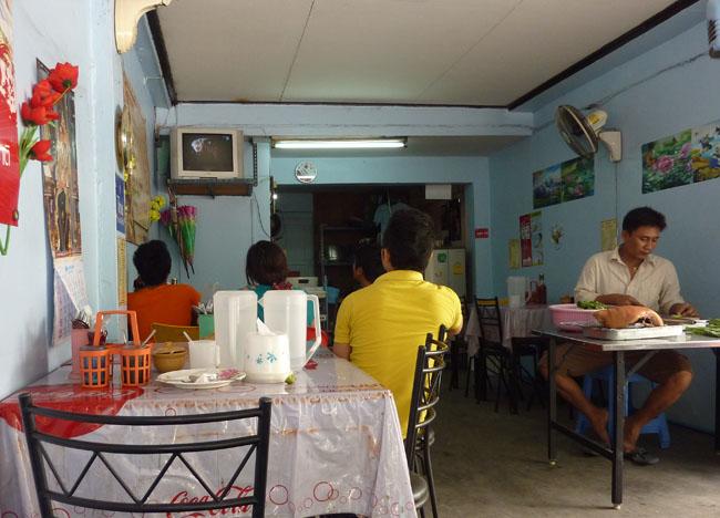 Local Restaurant, Bangkok Street Food Street, Southeast Asia