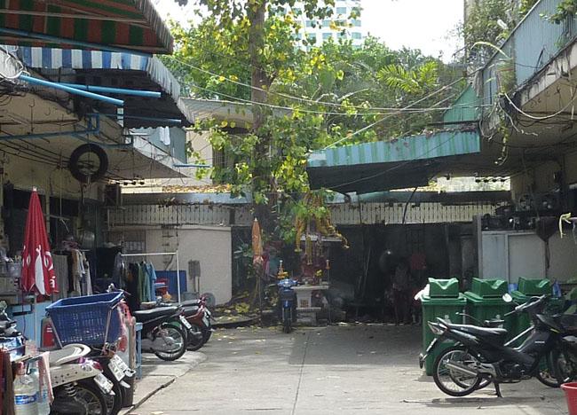 Local Spirit House, Bangkok Street Food Street, Southeast Asia
