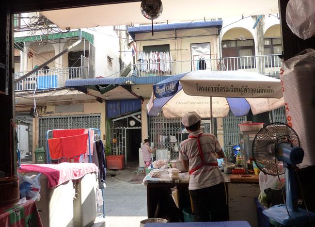 Roadside Restaurant, Bangkok Street Food Street, Southeast Asia