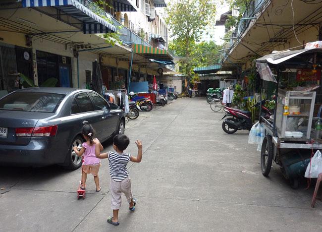 Local Life on Bangkok Street Food Street, Southeast Asia