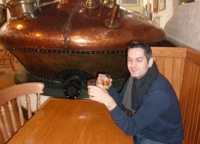Whiskey Tasting in Bushmills Distillery, Co. Antrim, Northern Ireland