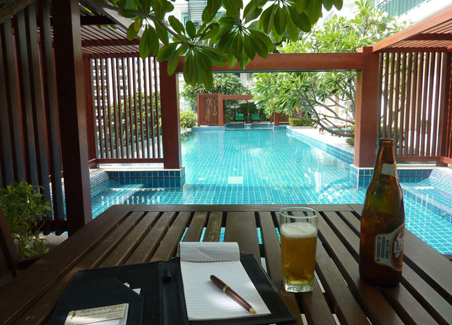 Living the Dream Life in Southeast Asia - Wind Sukhumvit Pool