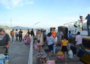 Arrival at Satun Pier, Singapore to Bangkok Overland Island Hopping