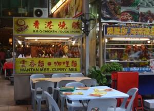 Daytime Seating Jalan Alor Food Street, Kuala Lumpur, Southeast Asia