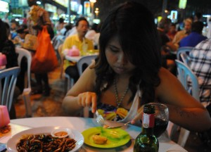 Jalan Alor, Kuala Lumpur, Singapore to Bangkok Overland Island Hopping