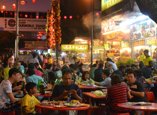 Jalan Alor Kuala Lumpur, Is Street Food Safe? Eating in Southeast Asia