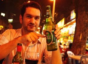 Big Jaz Beer, Jalan Alor Food Street, Kuala Lumpur Southeast Asia