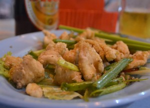 Salt Pepper Chicken, Jalan Alor Food Street, Kuala Lumpur, Southeast Asia