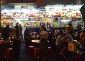 Street Food Mecca, Jalan Alor Food Street, Kuala Lumpur Southeast Asia