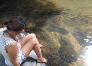 Fish Pala U Waterfall, Hua Hin Hills Tour, Thailand, Southeast Asia