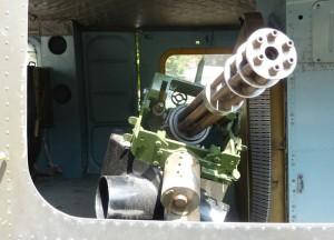 Machine Gun, War Remnants Museum, Ho Chi Minh City Centre, Vietnam