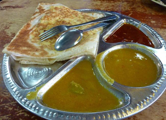 Roti Canai Curry, Quick Guide to Langkawi, Pantai Cenang Beach