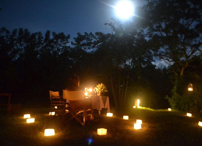 Poolside Dining, Wedding at Alila Ubud, Married in Bali Indonesia