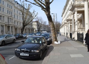 Inverness Terrace Bayswater Cheap and Free Attractions, London Stopover