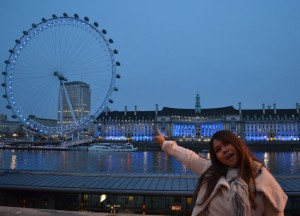 London Eye at Night, Cheap and Free Attractions, London Stopover