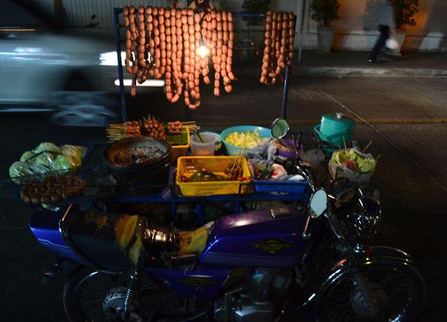 Isan Sausages Bangkok, Is Street Food Safe? Eating in Southeast Asia