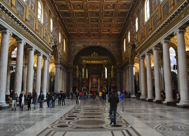 Santa Maria.  Is Rome Tourist Friendly. Unfriendly Bad Experiences