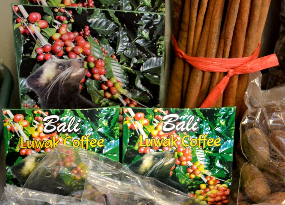 Kopi Luwak Coffee Ubud Market, Bali, Weasel Coffee, Civet Cruelty Asia