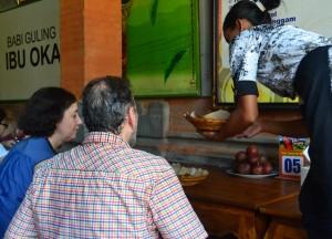 Ibu Oka Customers, Best Restaurants in Ubud Centre, Bali Food Top 3