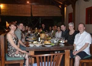 Large Group, Bebek Bengil, Best Restaurants in Ubud Centre, Bali Food