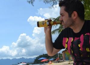 Beer on Langkawi, Singapore to Bangkok Overland Island Hopping