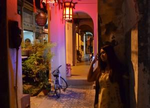 Muntri Street Georgetown, Singapore to Bangkok Overland Island Hopping