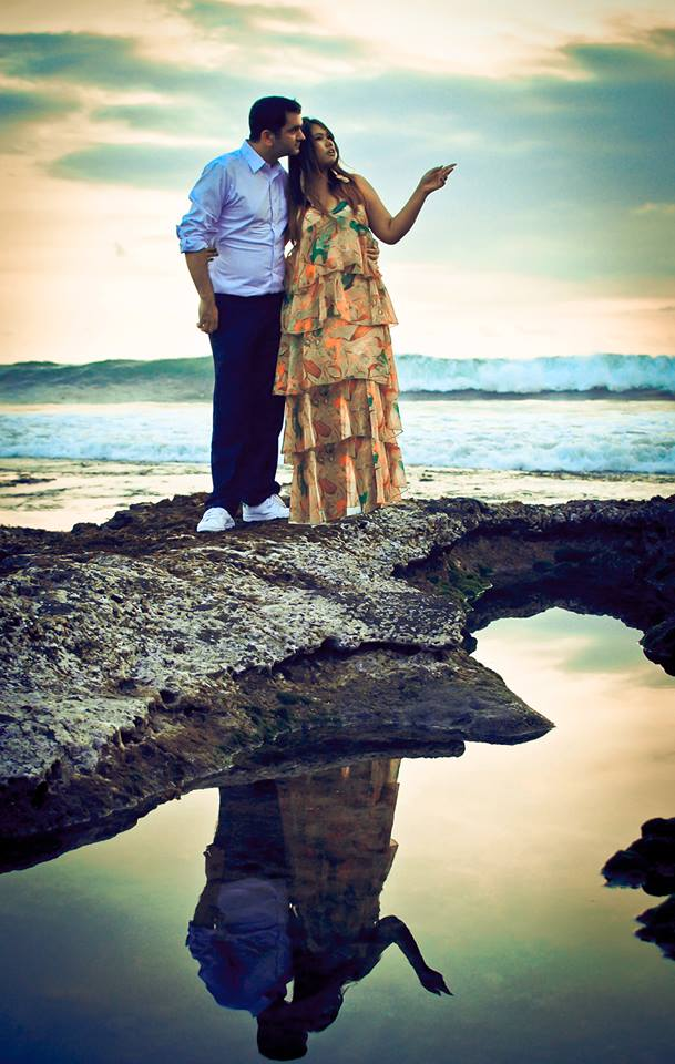 Puddles, Pre-wedding Photo Shoot in Bali Photography Locations