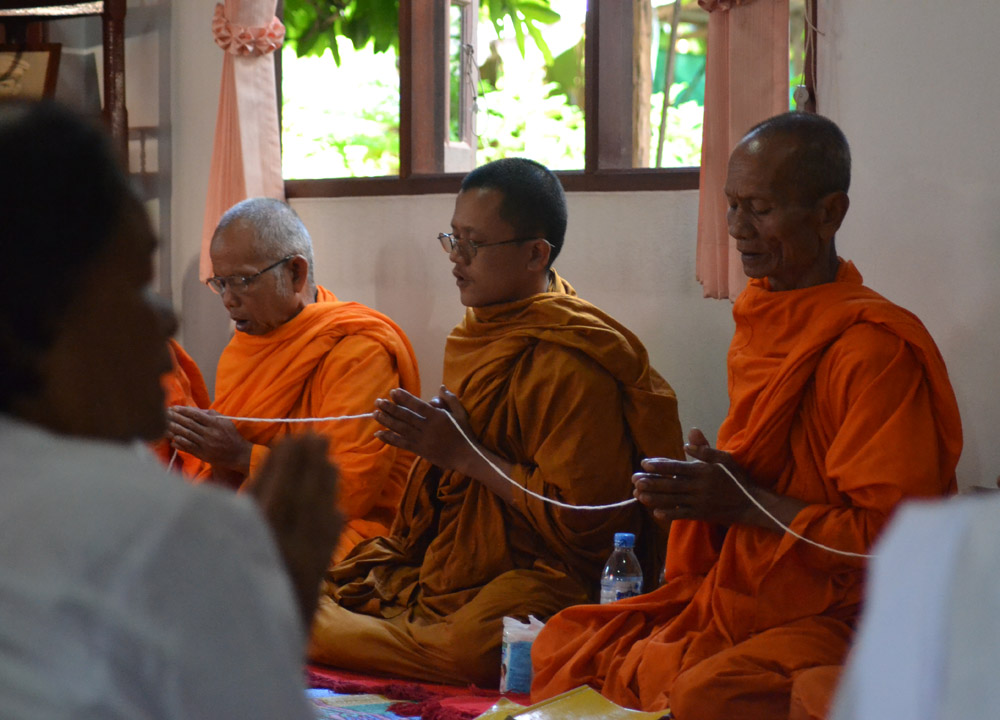 Monks Blessing, String Bracelets Thailand, Sai Sin Sacred Thread, Asia