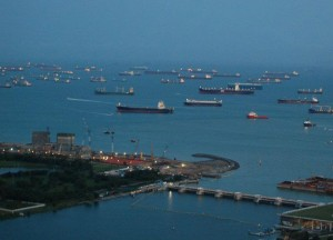 Harbour Shipping Lanes, Where to Stay in Singapore on a Budget