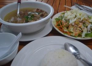 Restaurant Food, Duck, Champasak Palace Hotel Pakse Hotel Review Laos
