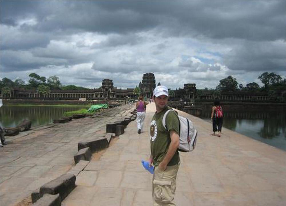 Forwarding to Angkor Wat, Thailand-Cambodia Border Crossing, SE Asia