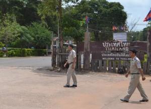 Thai Chong Chom to O'Smach, Thailand-Cambodia Border Crossing, SE Asia