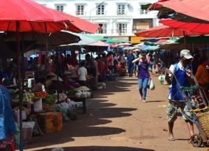 Morning at Dan Heuang Market, Things to do in Pakse City Southern Laos