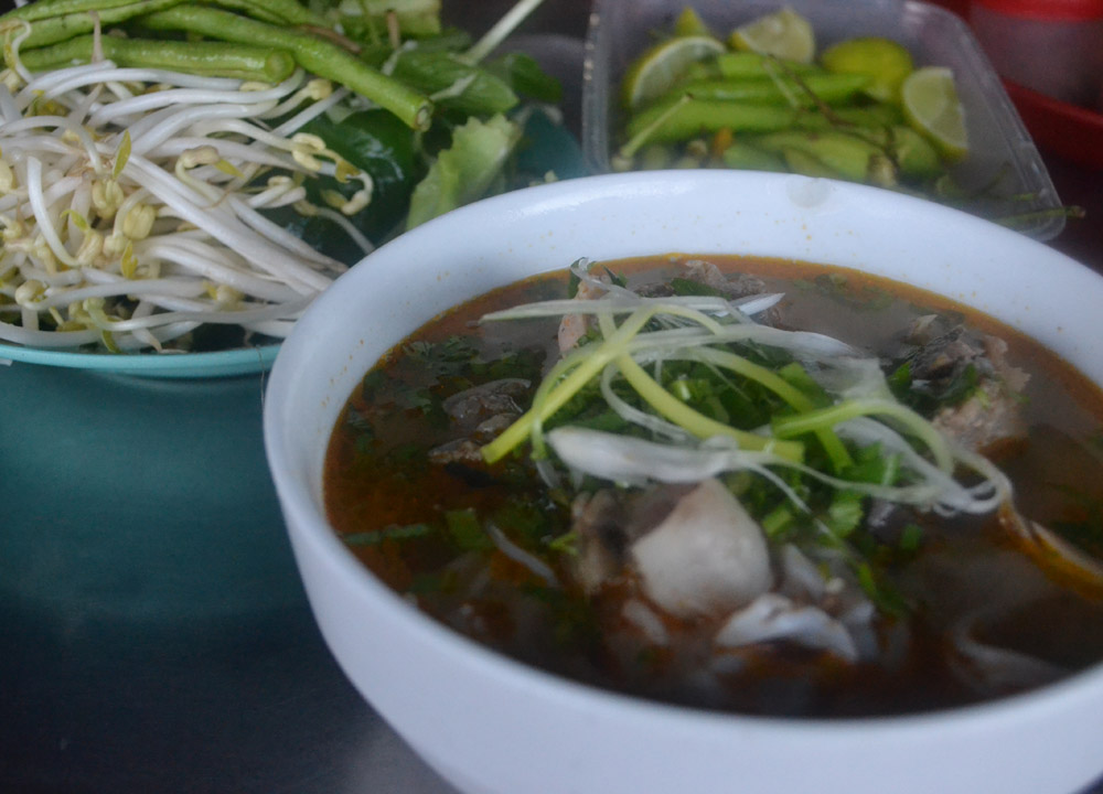 Lao Noodle Soup, Things to do in Savannakhet Laos Southeast Asia