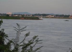 Morning, Mekong River, Things to do in Savannakhet Laos Southeast Asia