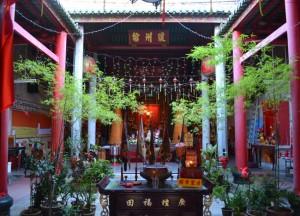 Muntri Street Temple, Georgetown Best Thai VISA Run to Penang Malaysia