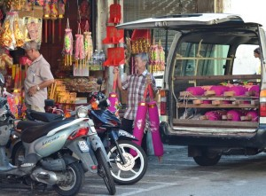 Giant Joss Sticks, Georgetown, Best Thai VISA Run to Penang Malaysia