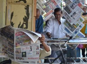 Local Newspapers, Georgetown, Best Thai VISA Run to Penang Malaysia