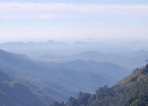 Views Over Ella Mountains, British Tea Plantations in Asia, Hill Stations