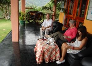 Sipping Ceylon Tea Ella, South Sri Lanka Tour, Independent Travel Asia