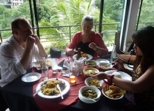 Kandy Riverside Restaurant, South Sri Lanka Tour, Independent Travel Asia