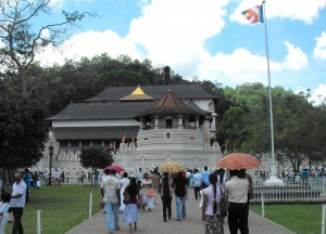Temple of the Sacred Tooth, South Sri Lanka Tour, Independent Travel Asia