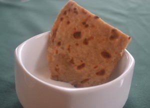 Paratha with Curd, Himalayan Food, Eating in the Himalayas, Sikkim